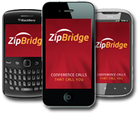 Easy to Use Mobile App that works with iPhone, Android and Blackberry smartphones