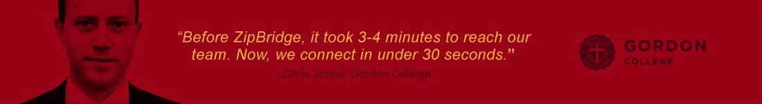 Chris Jones - Gordon College