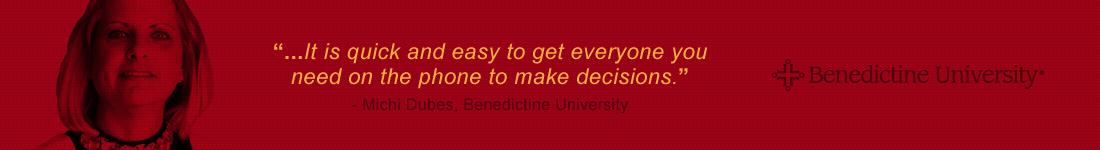 Michi Dubes - Benedictine University